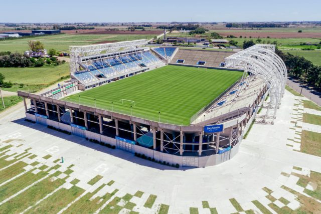 Estadio San Nicolás tribunas