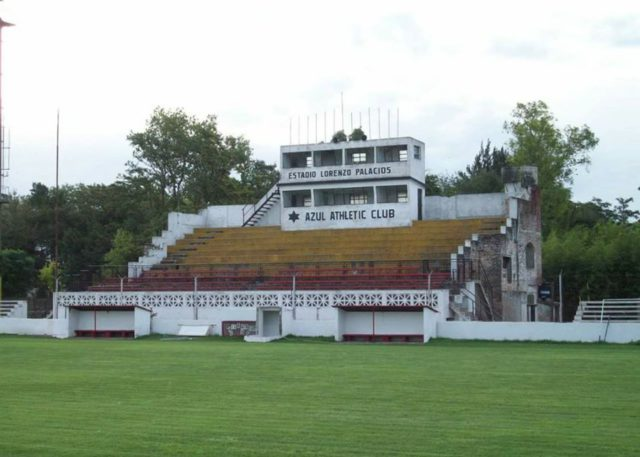 estadio Azul Athletic Club tribuna