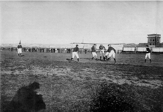 primeras canchas fútbol argentino