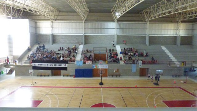 Polideportivo Tres Arroyos tribuna