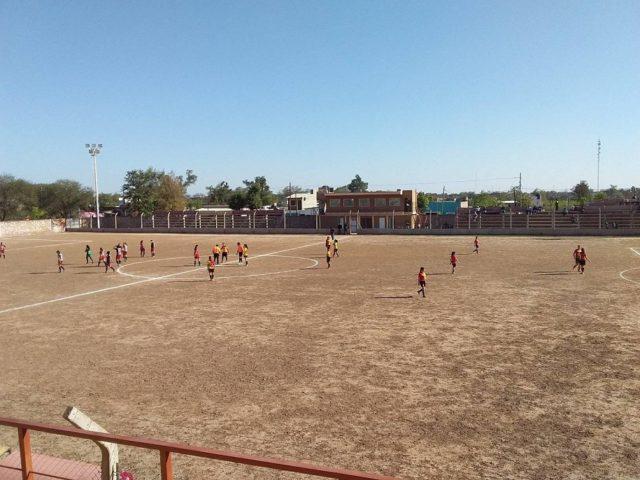estadio Barrio Sarmiento Castelli