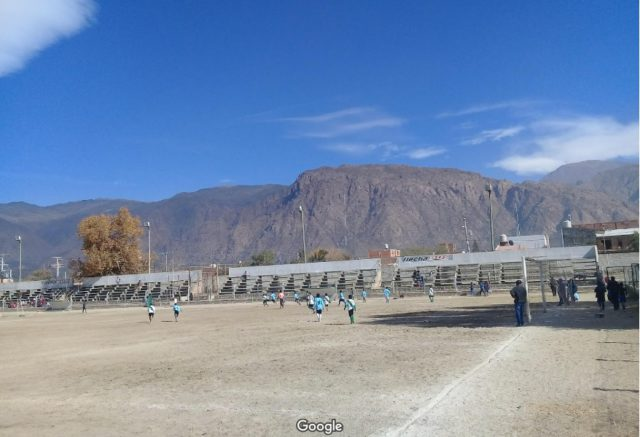 estadio Rivadavia Cafayate tribuna