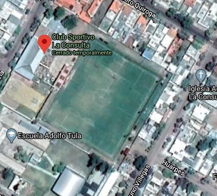 Sportivo La Consulta google map