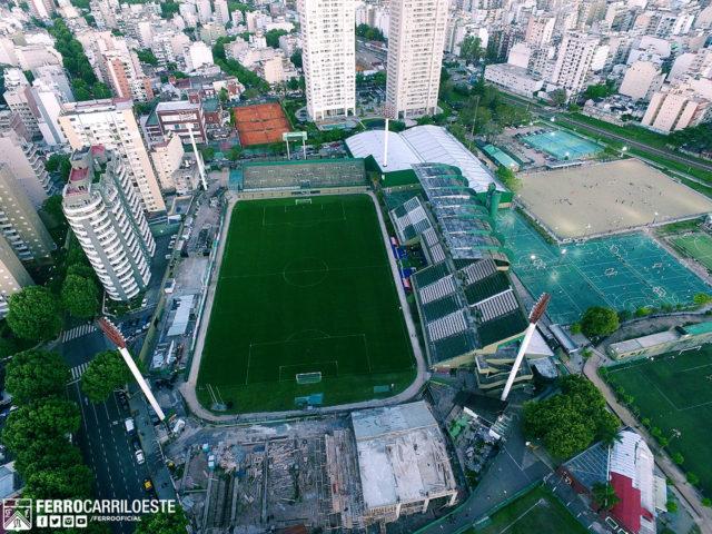 estadio Ferro Carril Oeste 2019