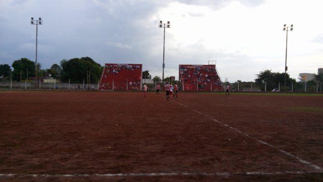 cancha Huracán Rocamora tribunas