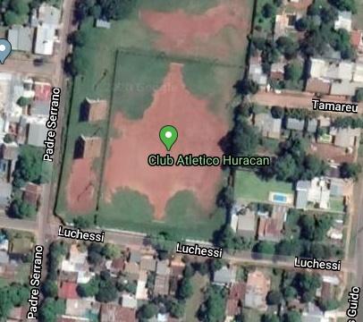 Huracán Rocamora google map