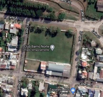 Barrio Norte Avellaneda google map