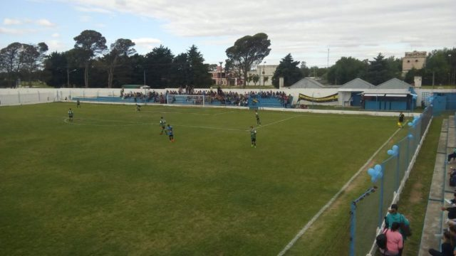 Belgrano FC de Berrotaran tribuna