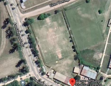 San Lorenzo de Formosa google map