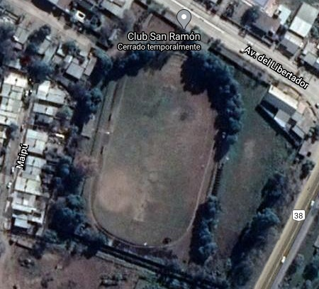 club San Ramón Villa Quinteros google map