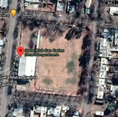Sport Club San Carlos google map