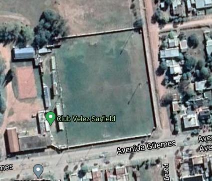 Velez Sarsfield Tres Isletas google map