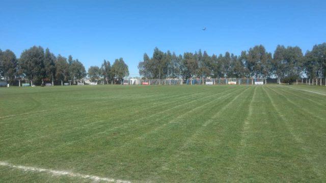 Cancha del club Sierra Chica tribuna