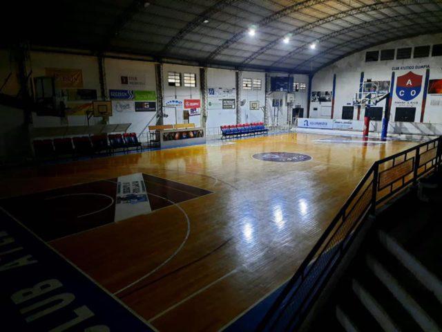 estadio basquet Olimpia Paraná