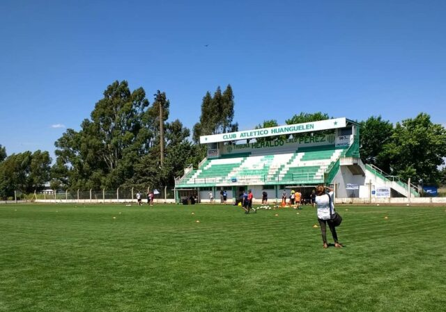 Atlético Huanguelen tribuna