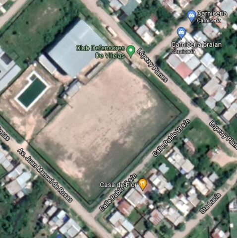 Defensores de Vilelas google map
