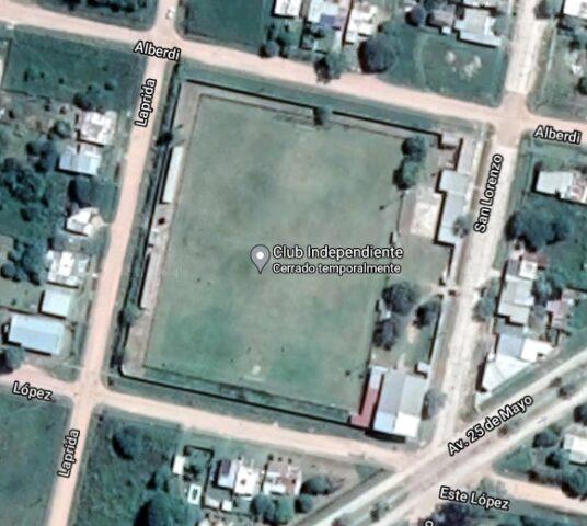 Independiente de San Cristóbal google map