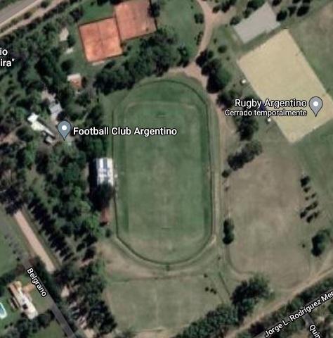 Argentino Trenque Lauquen google map