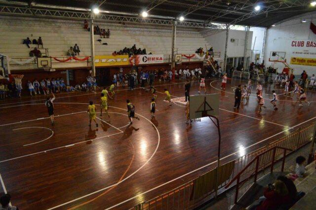 estadio Basquetbol Córdoba tribuna