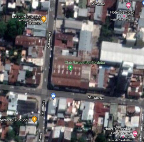 Club Basquetbol Córdoba google map