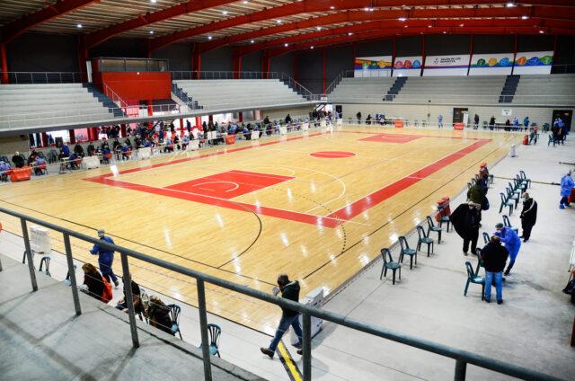 Salón de los Deportes Villa María tribunas
