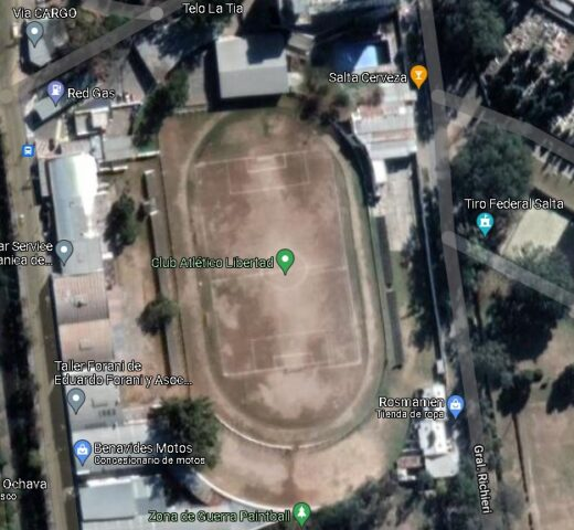 Club Libertad Salta google map