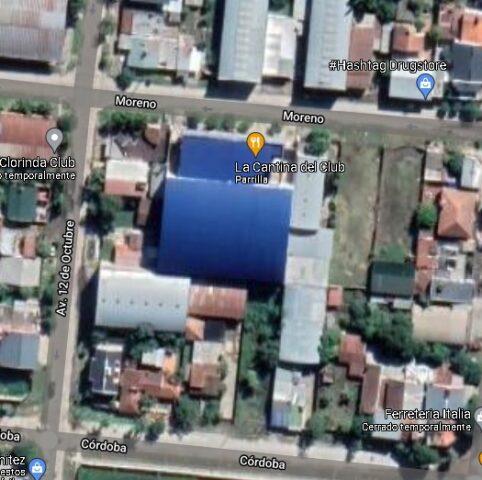 estadio Argentinos del Norte Clorinda google map