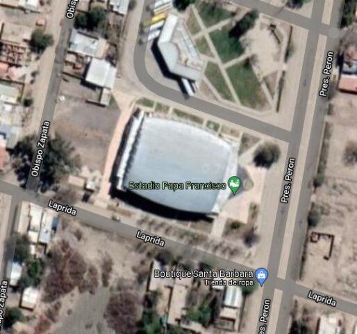 estadio Papa Francisco Jachal google map